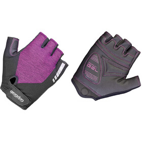 GripGrab ProGel Padded Short Finger Gloves Women purple